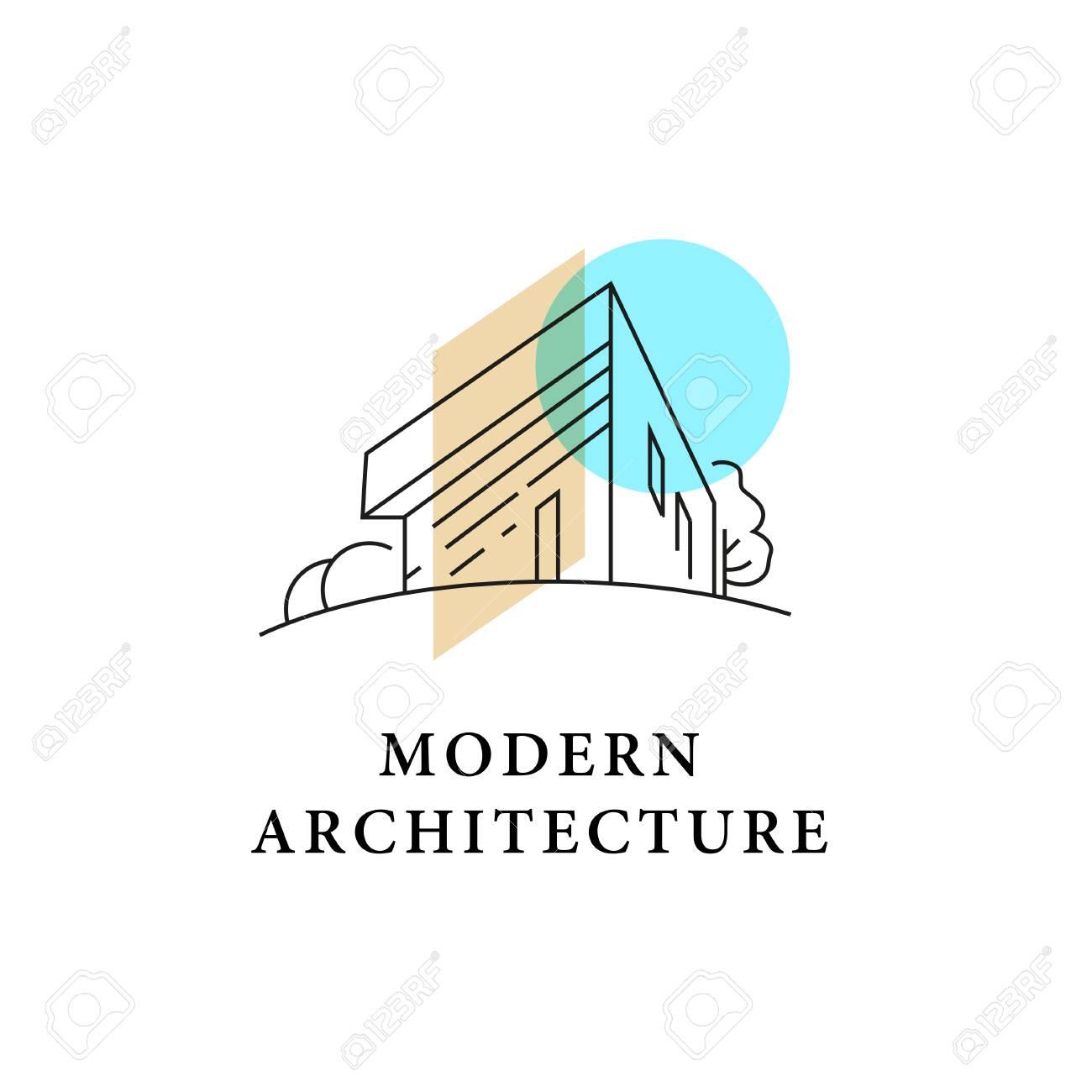 Vector Architect Studio Design Isolated On White Background ...