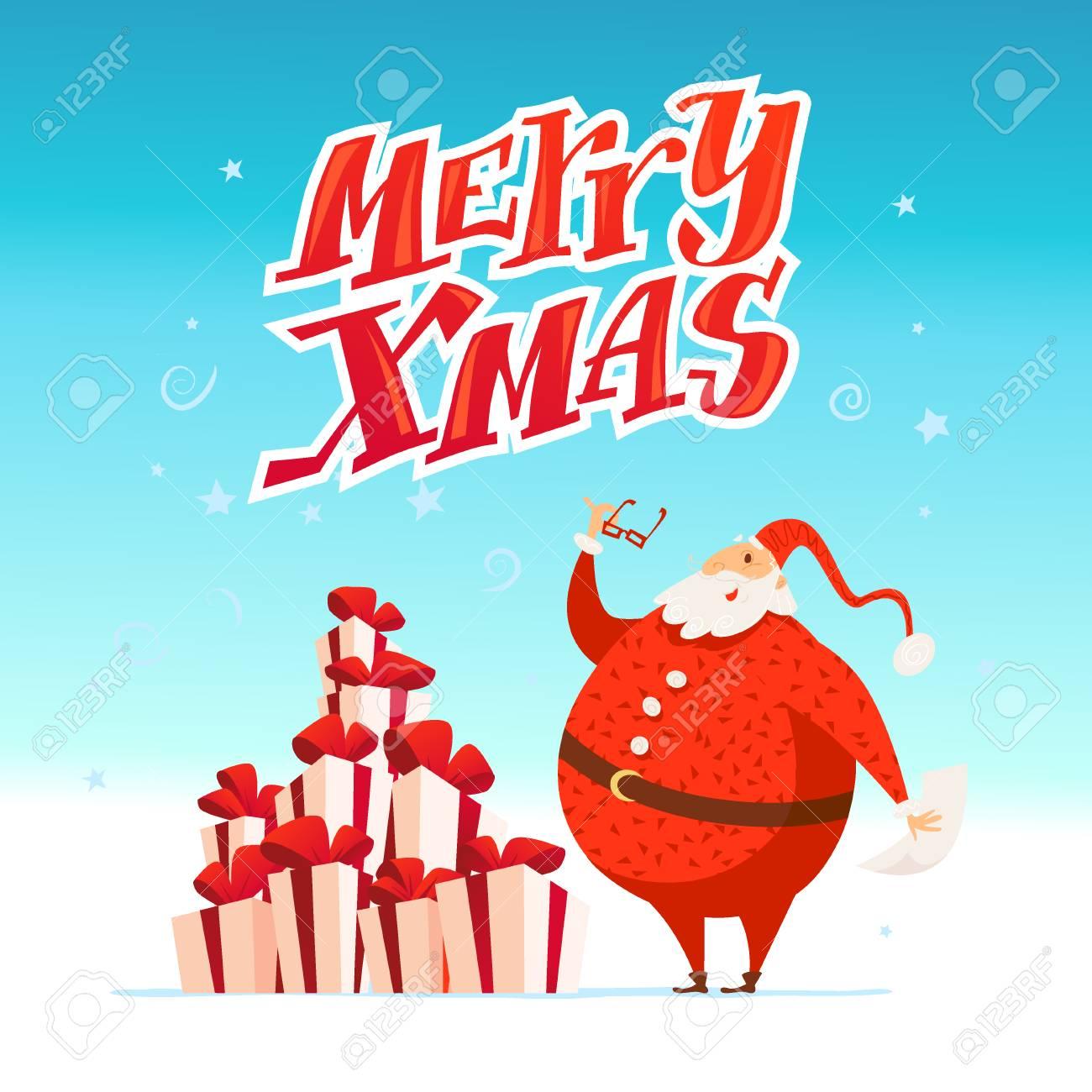 Bild Frohe Weihnachten Lustig.Stock Photo