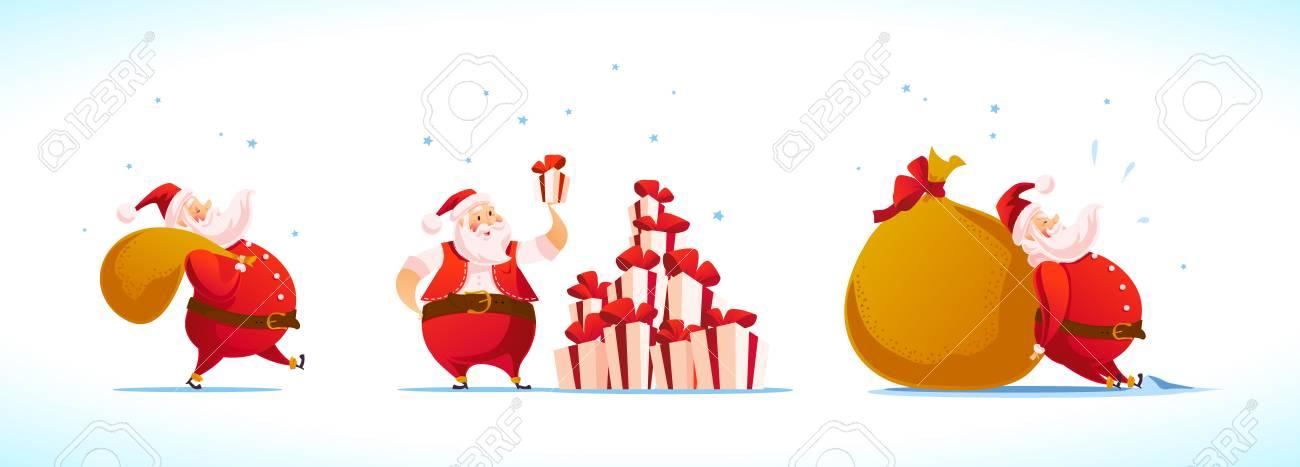 Vector Frohe Weihnachten, Guten Rutsch Ins Neue Jahr Glückwunsch ...