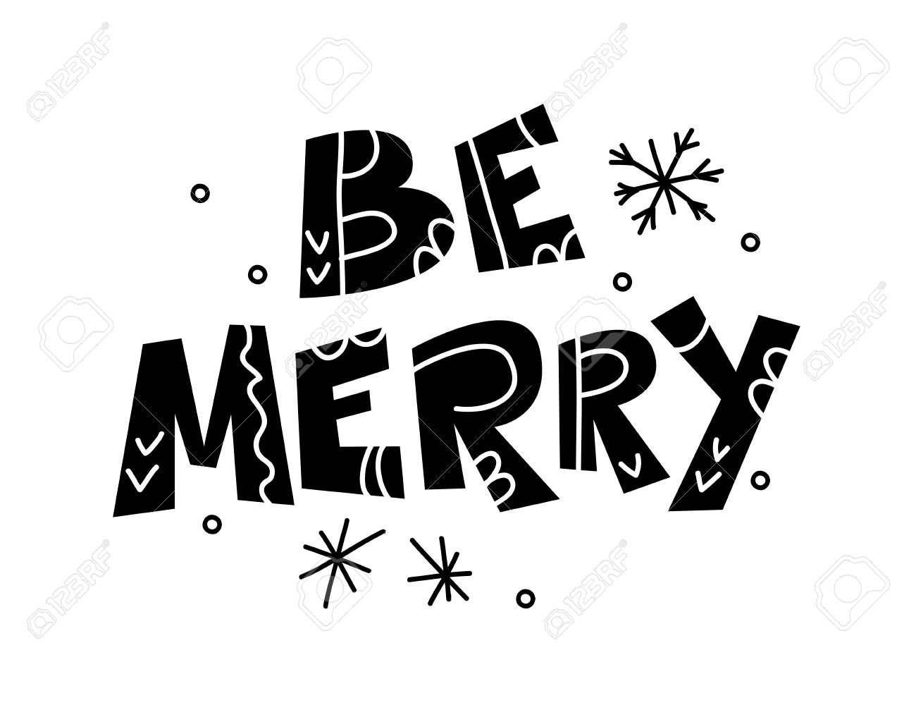 Vector Merry Christmas And Happy New Year Congratulation Design