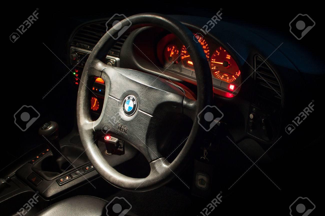 BMW E36 Interior Stock Photo   38140569