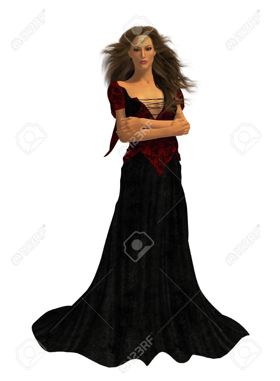 67f20715f02f5 Femme Habillée Dans Une Robe Banque D'Images Et Photos Libres De ...