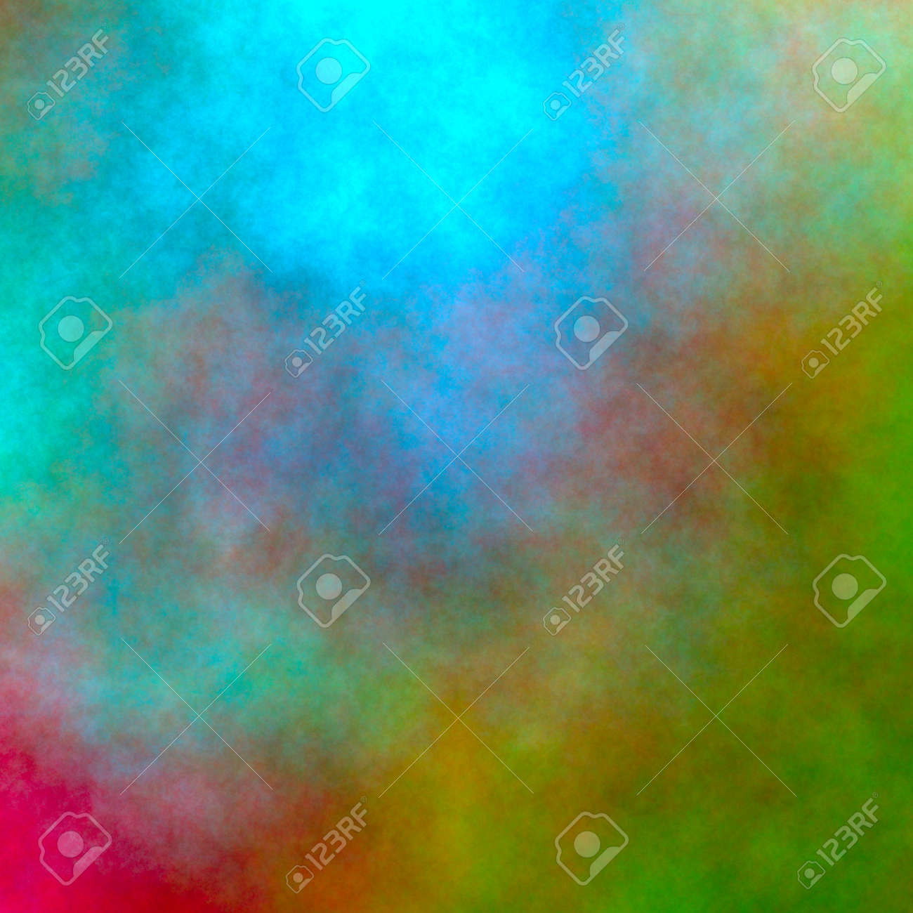 Abstract watercolor background. Irregular pattern in fall colors. - 156683748