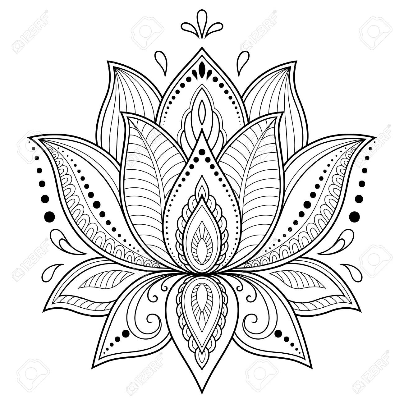 Indian Lotus Flower Tattoo 62284 Enews