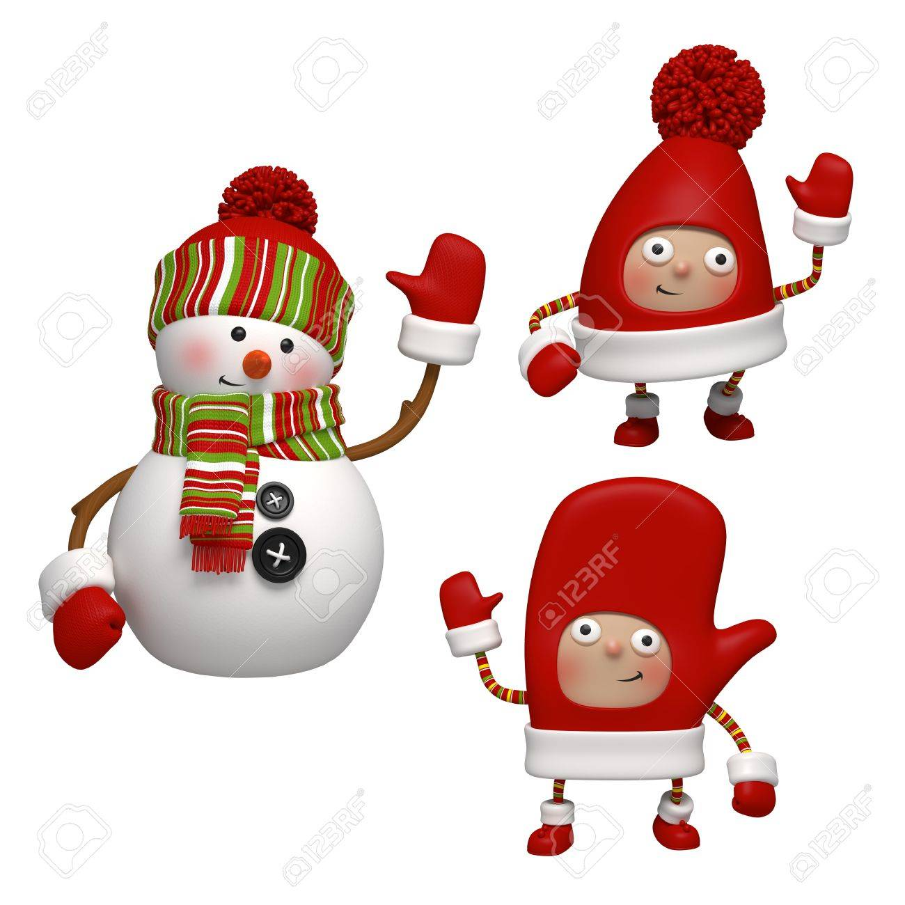 christmas characters Stock Photo - 15841095