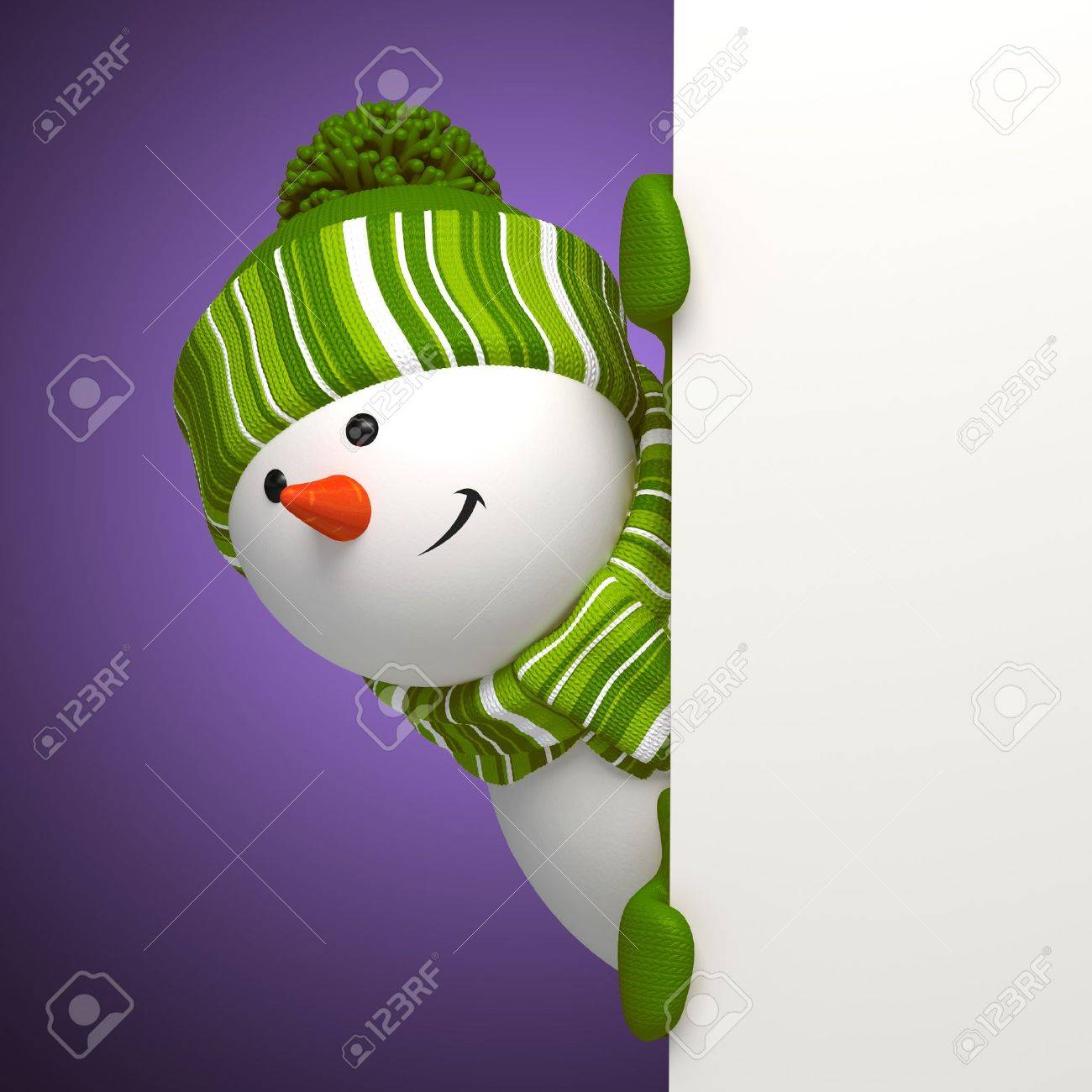 new year snowman banner Stock Photo - 16508742