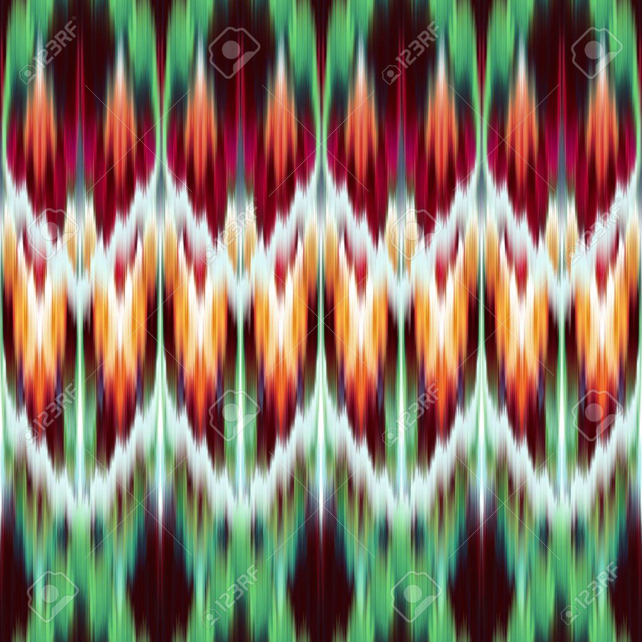 abstract modern ethnic seamless fabric pattern Stock Photo - 18966984