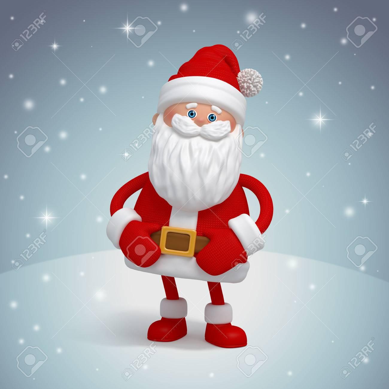 Santa claus greeting card 3d cartoon character clip art stock photo santa claus greeting card 3d cartoon character clip art stock photo 23973105 m4hsunfo