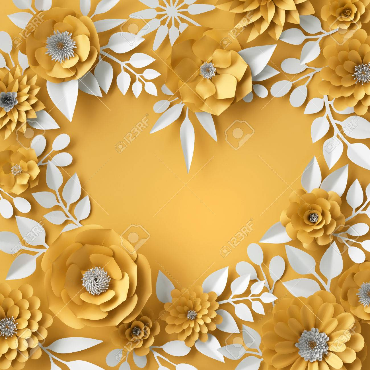 3d illustration decorative red paper flowers background floral 3d illustration decorative red paper flowers background floral heart frame stock illustration 74884778 mightylinksfo