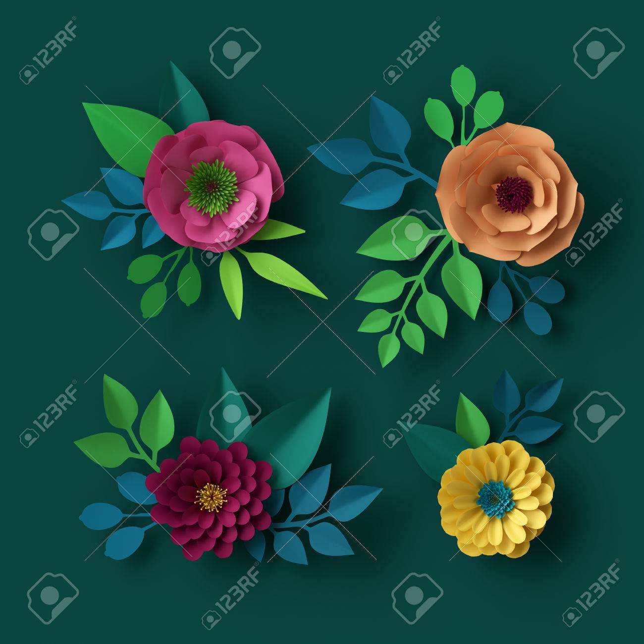 Digital 3d Hd Wallpapers Flowers Rose