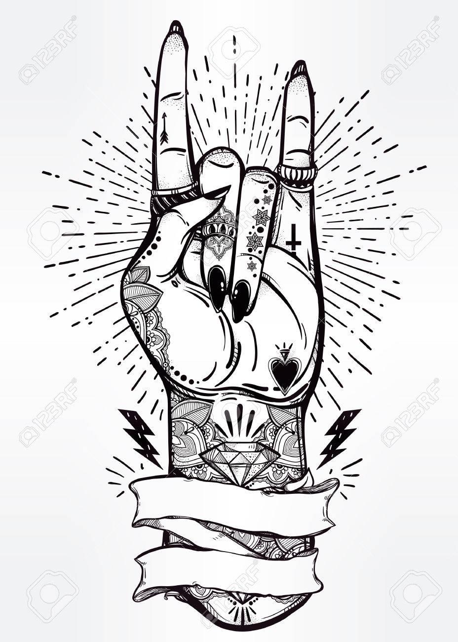 Hand drawn romantic flesh art rock festival poster with frame for hand drawn romantic flesh art rock festival poster with frame for your text rock and buycottarizona