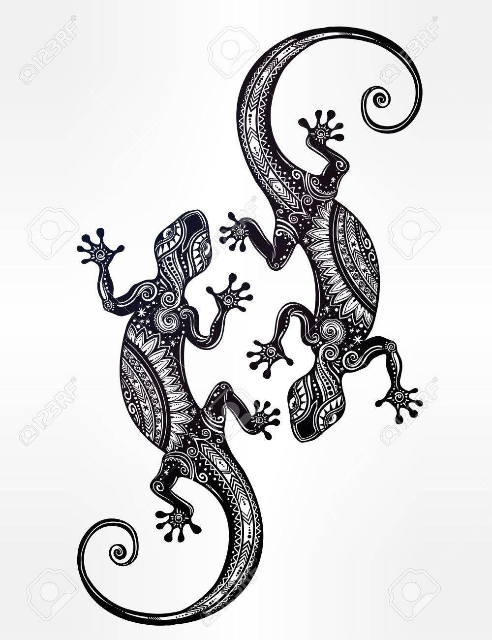 Charmant Leopard Gecko Malvorlagen Bilder - Malvorlagen Von Tieren ...