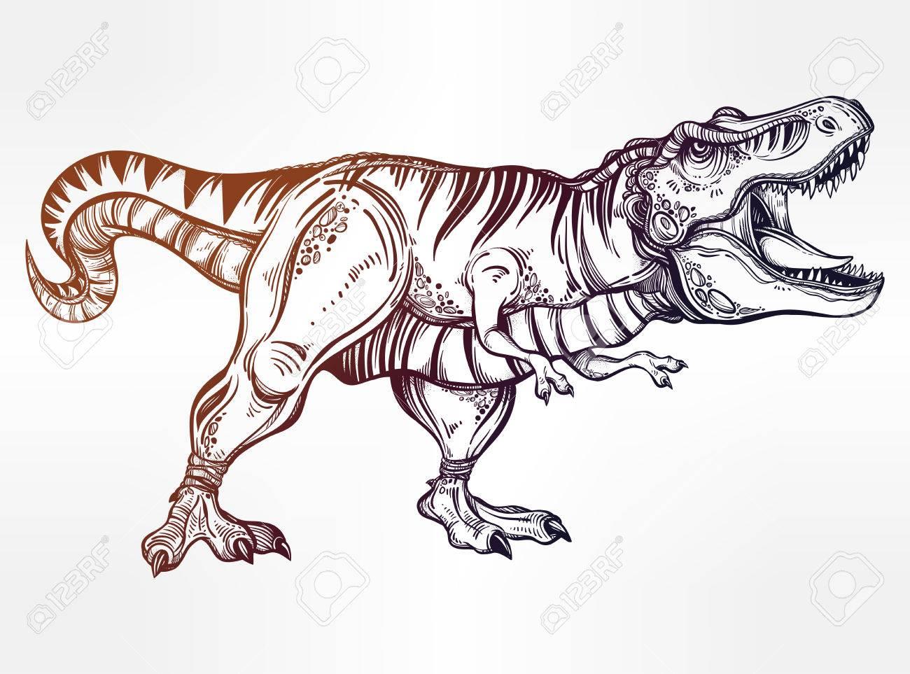 Ziemlich T Rex Dinosaurier Malvorlagen Ideen - Malvorlagen Von ...