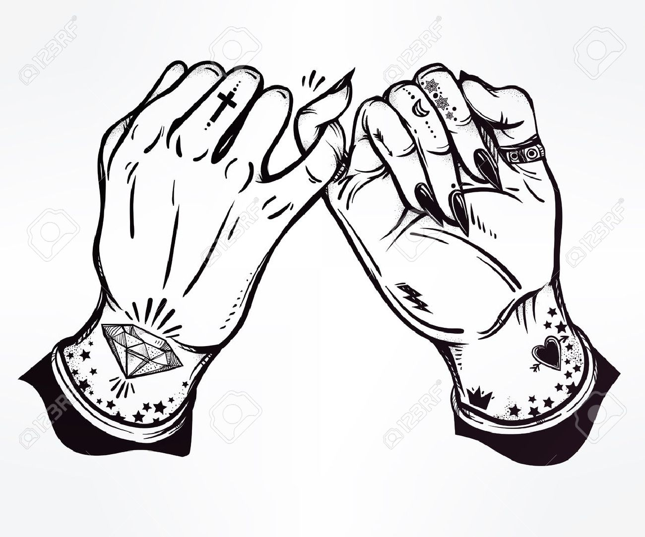 Pinky promise hand holding hands are tattooed ghetto and gothic pinky promise hand holding hands are tattooed ghetto and gothic style inspired buycottarizona