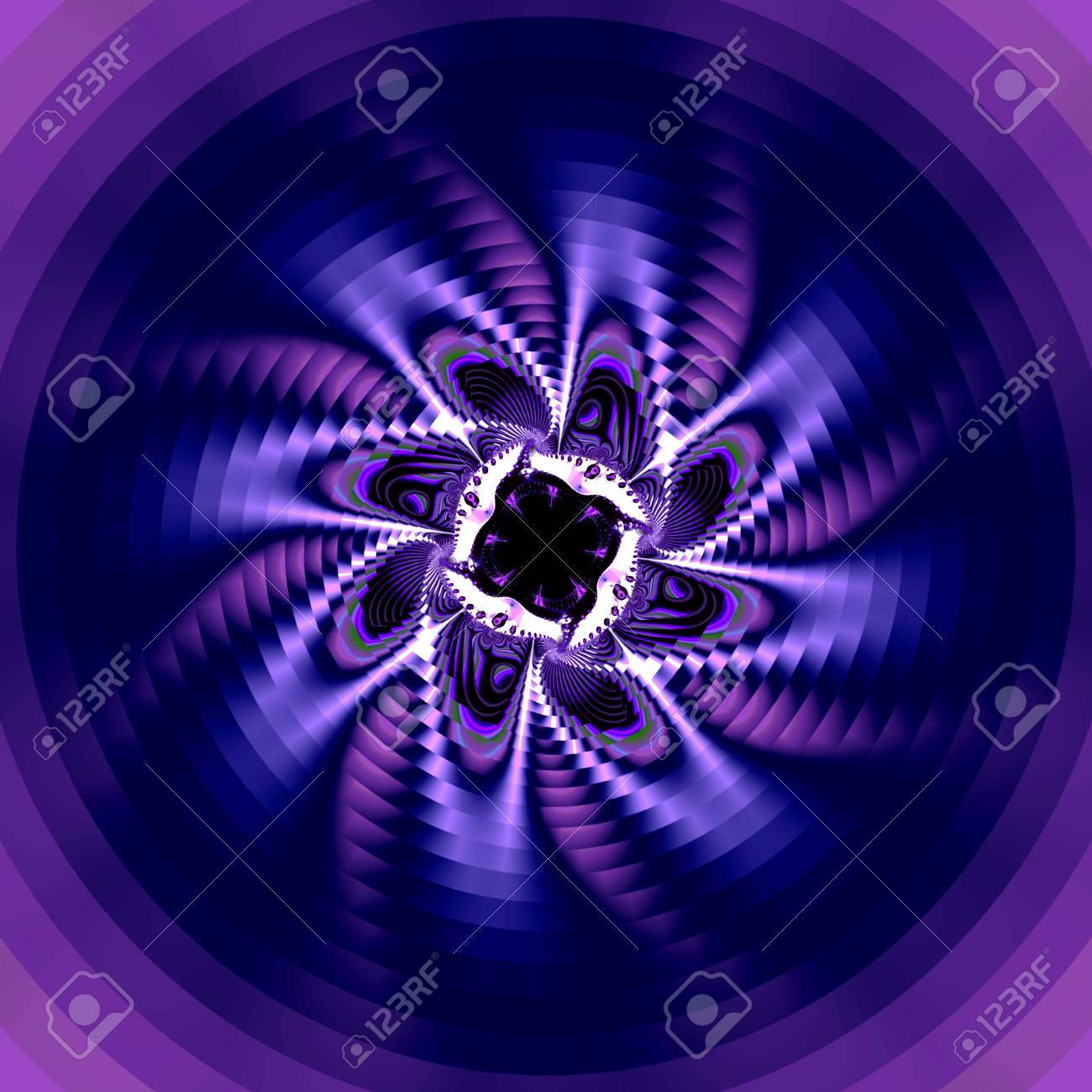Beautiful spiral fractal flower  Suitable for a Spring or Summer theme or for business and birthday cards, art projects, banners and brochures Stock Photo - 17461952