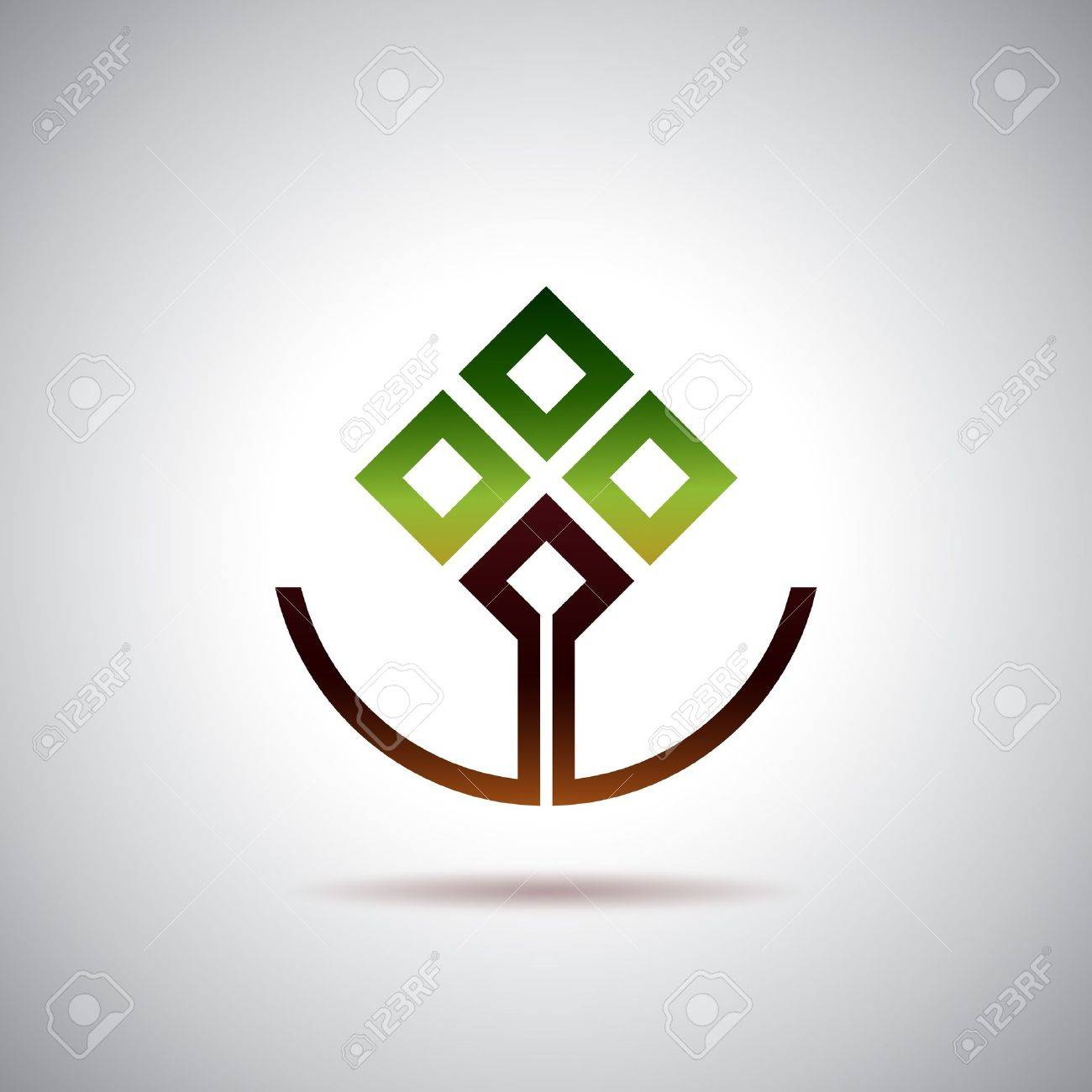 Smiling tree Stock Vector - 15906078