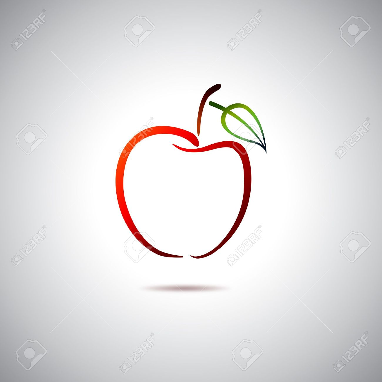 apple logo royalty free cliparts, vectors, and stock illustration