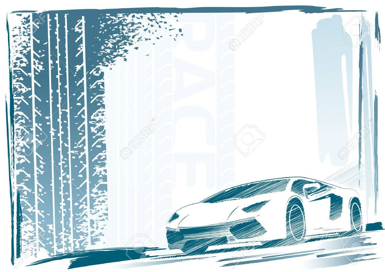 Sport Car Frame Royalty Free Cliparts, Vectors, And Stock ...