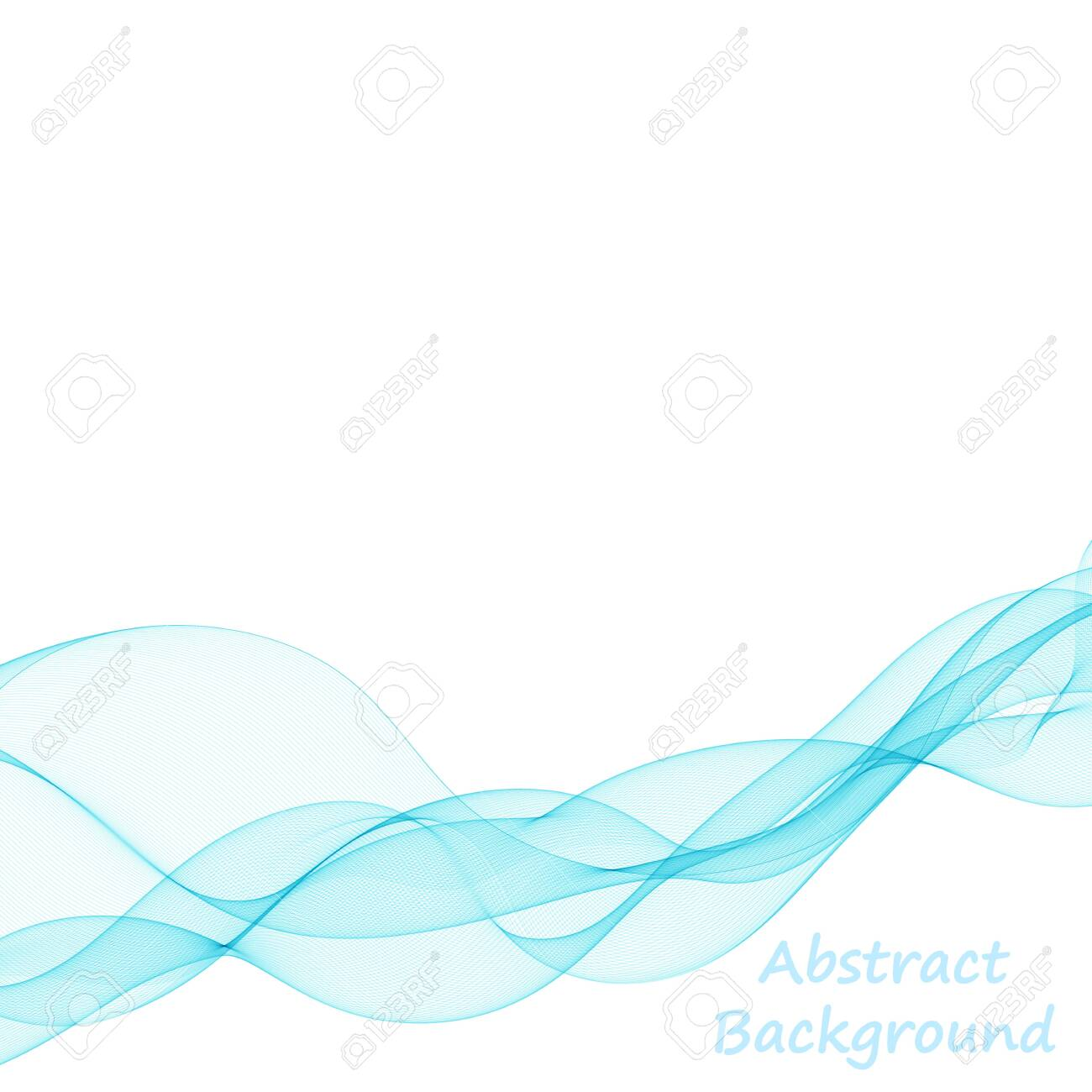 abstract vector background. colorful wave - 143894972