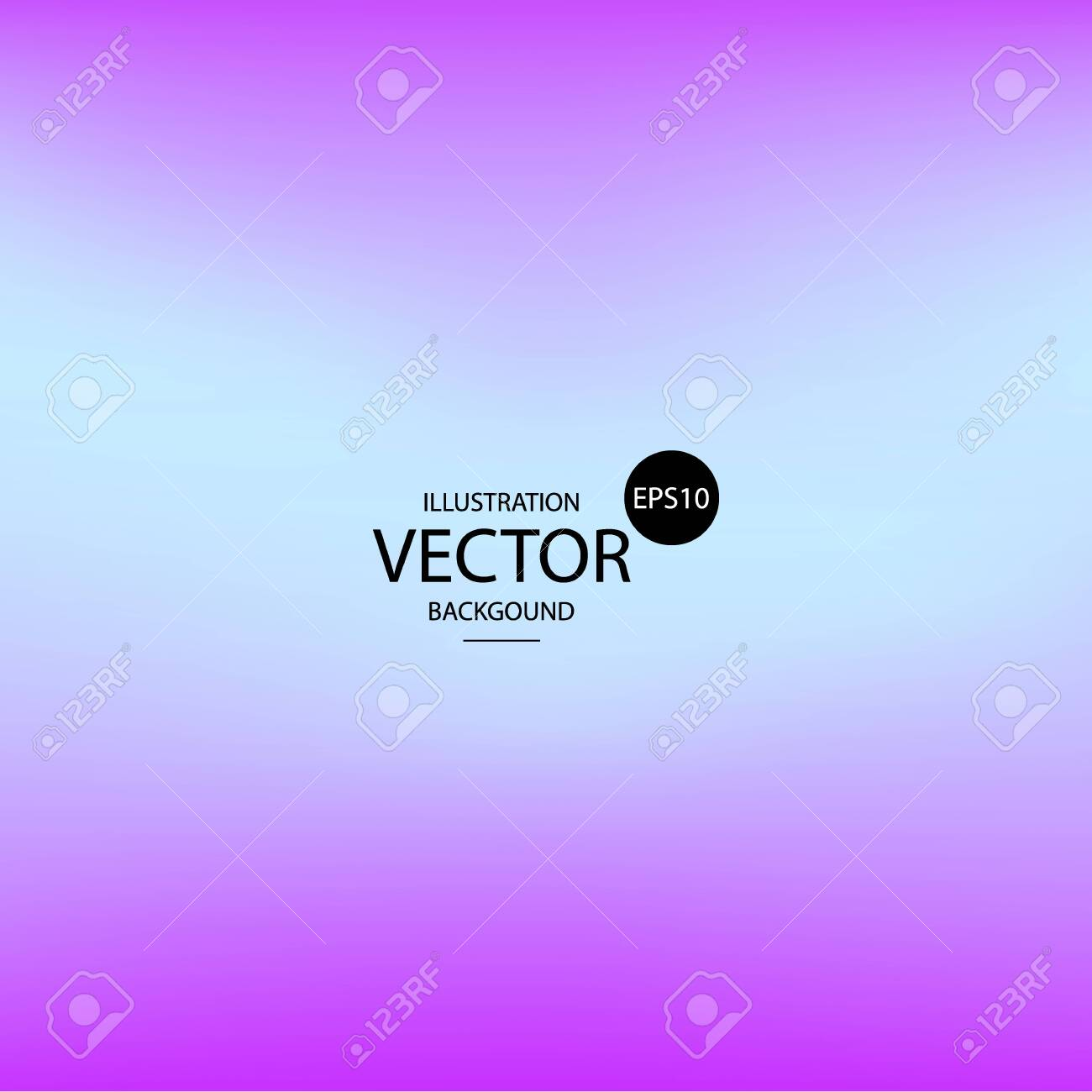 Abstract blur gradient background with trend pastel pink, purple, violet and blue colors for wallpapers, web, presentations and prints. Vector illustration. - 146562711