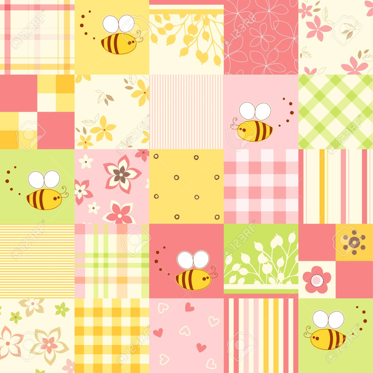 Good For Wrapping Paper And Fabric Design Baby Shower