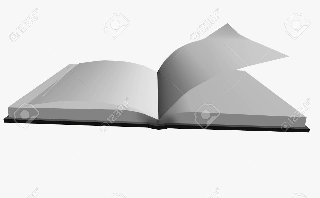 Book On The Background Plain Color Picture The Book Is In A Stock Photo Picture And Royalty Free Image Image 139764568