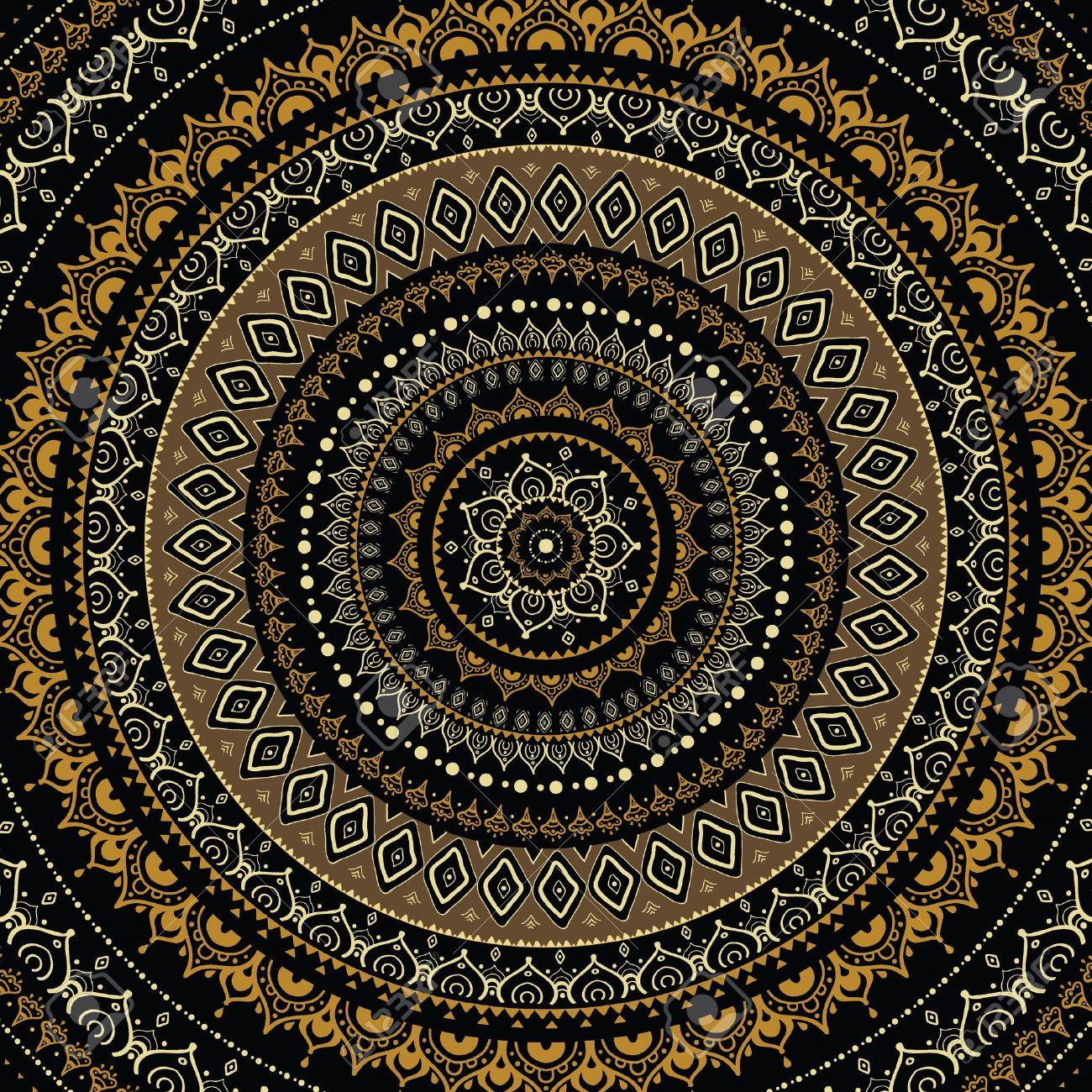 Mandala  Indian decorative pattern Stock Vector - 20210197