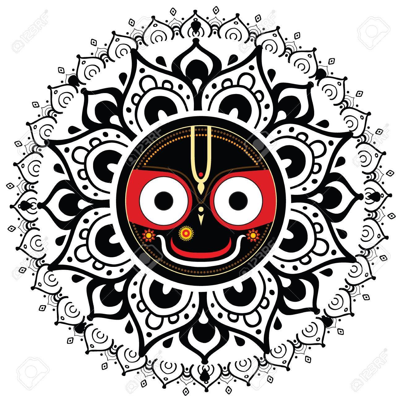 宇宙の主 Jagannatha のジャガン...