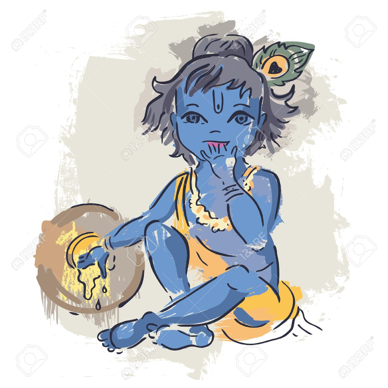 Latest krishna Wall Decor Decal Art Photo Gallery for free download