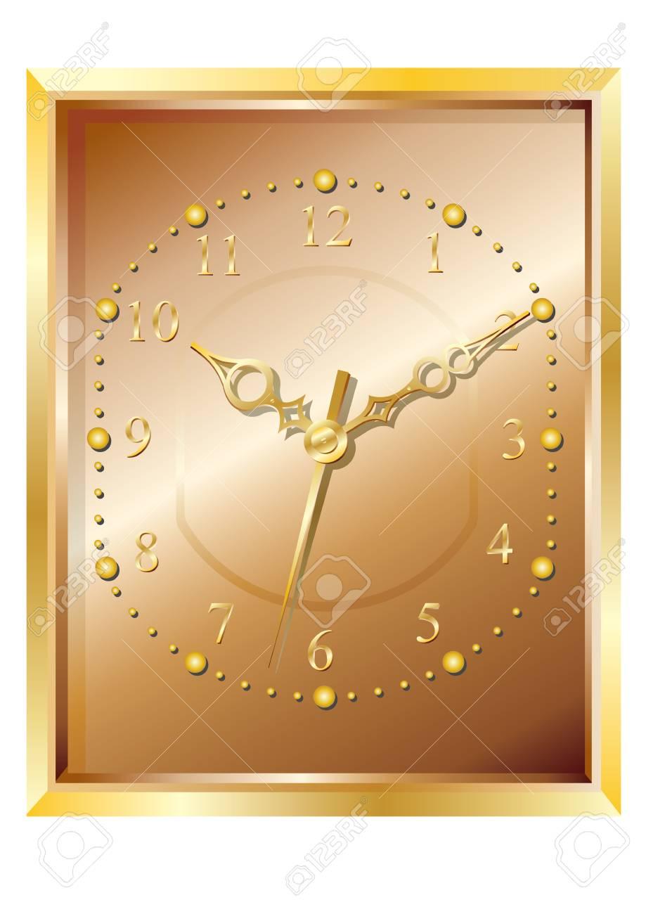 Wall clock. Stock Vector - 6503759
