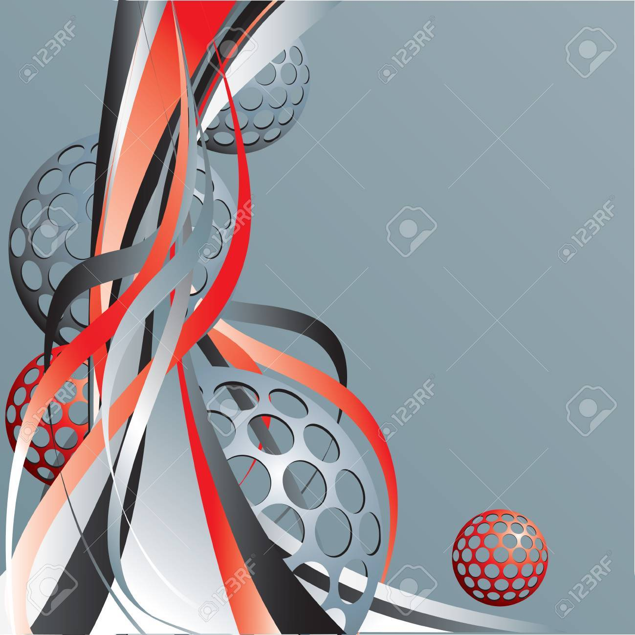 Abstract background with lines. Stock Vector - 6606783