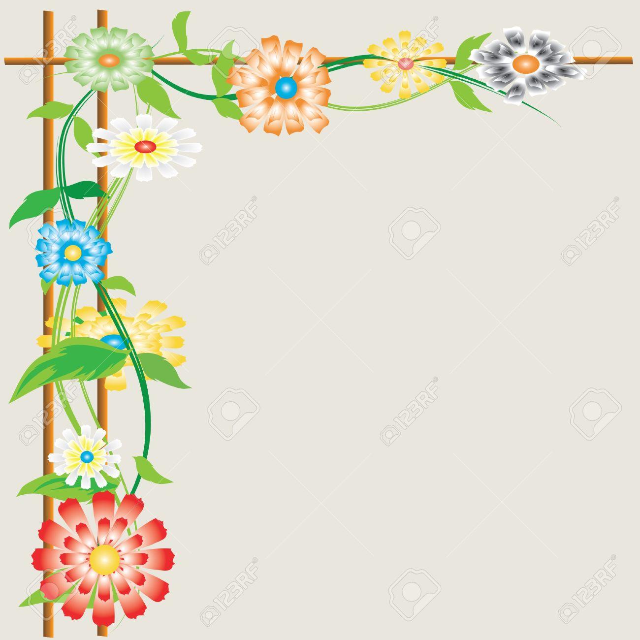 Flower sun. Stock Vector - 6798017