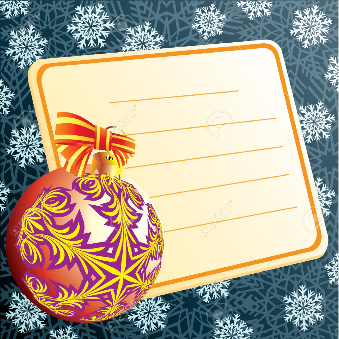 Balls for a decoration. Christmas. Stock Vector - 8115969