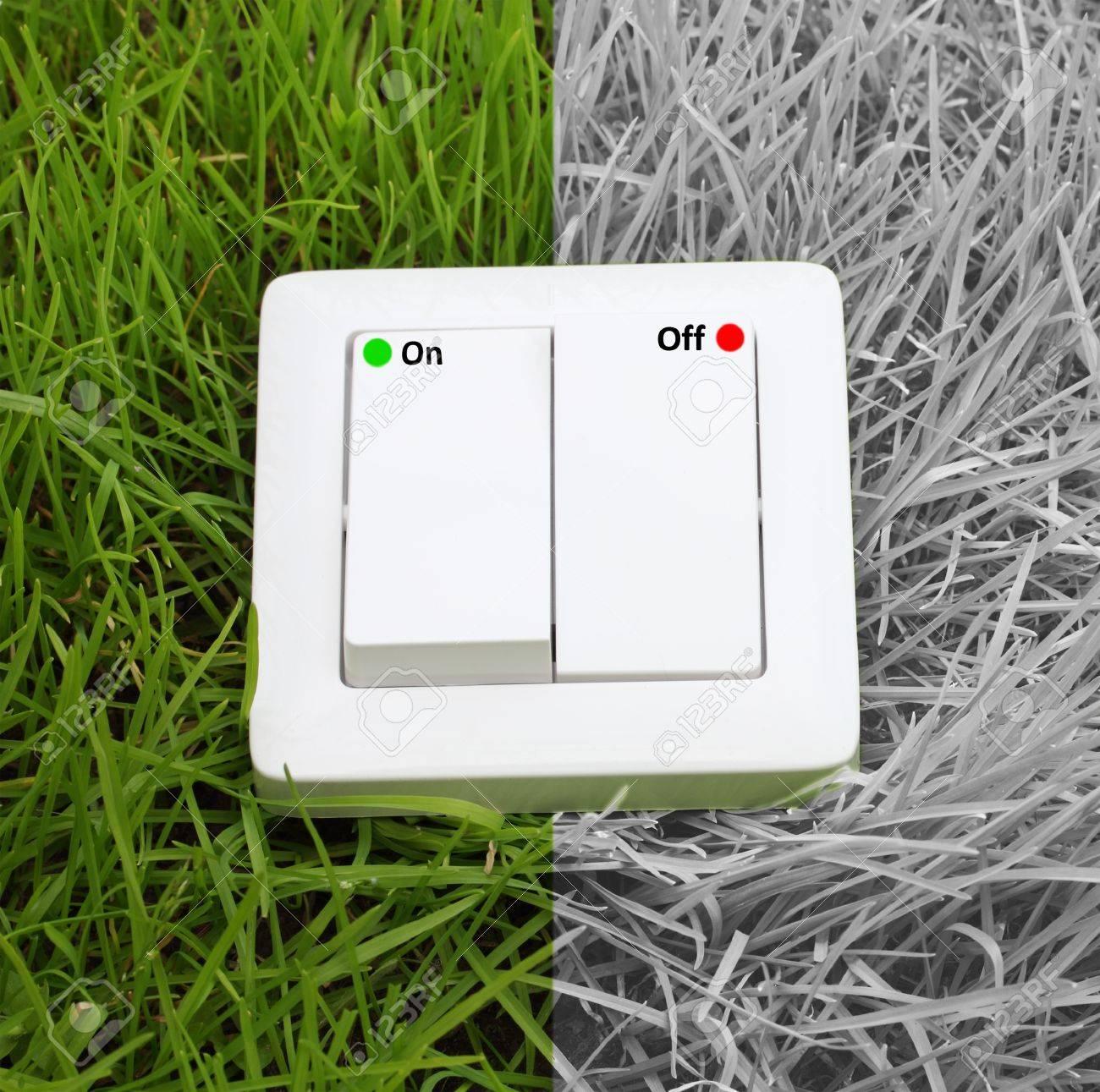 ecological concept, symbolizing renewable energy, bio energy Stock Photo - 14212608