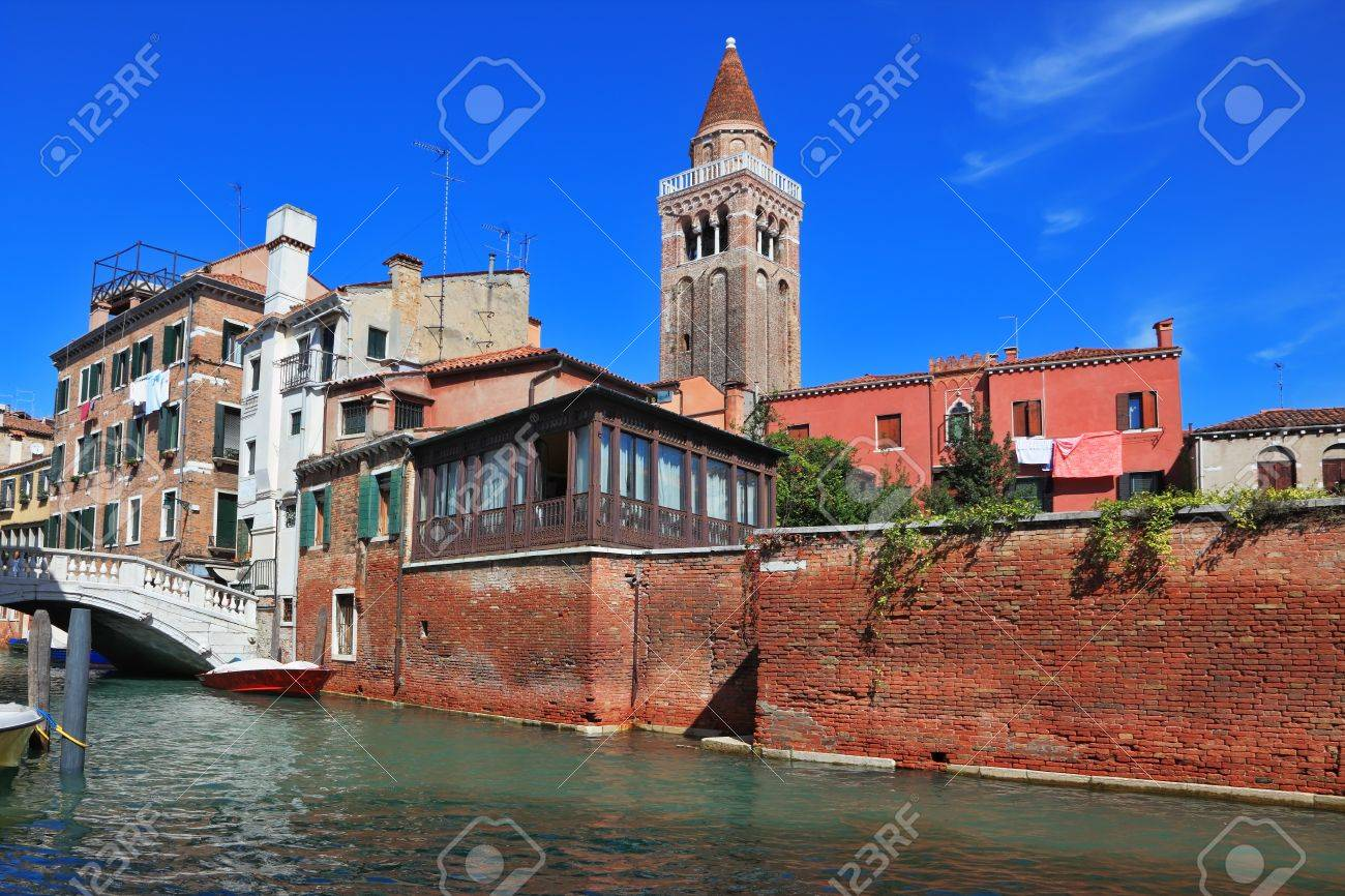 The most famous canal in the world - the Canale Grande in Venice Stock Photo - 13618063