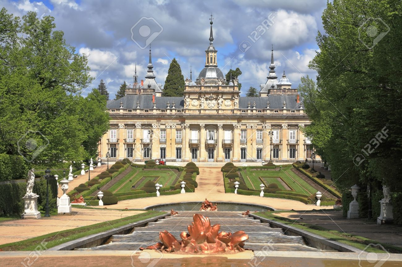 superb spain royal residence and the palace of the 17th century