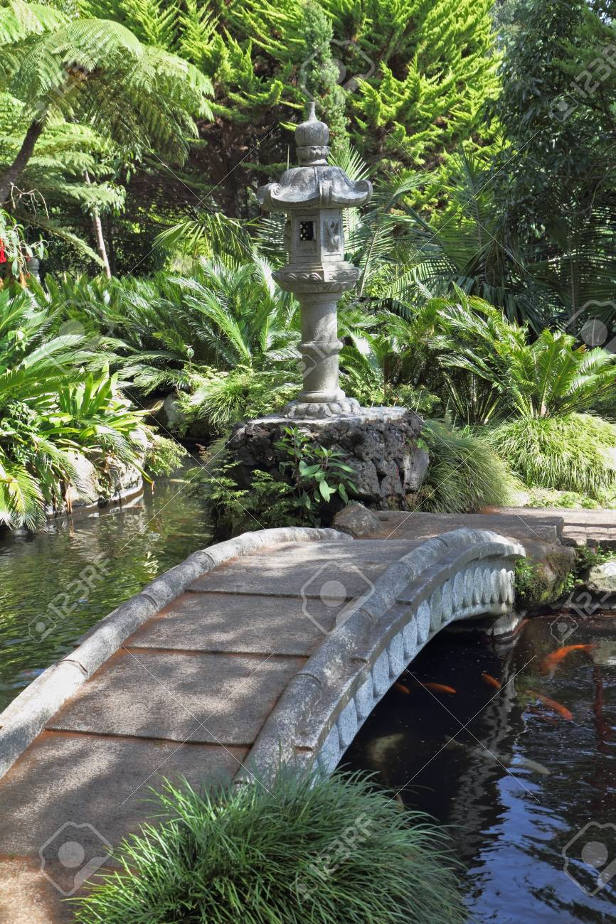 The park on the island of Madeira - Monte Palace Tropical Garden