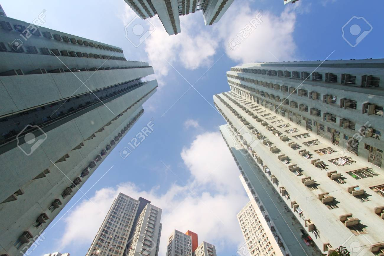 Hong Kong crowded buildings Stock Photo - 11701041