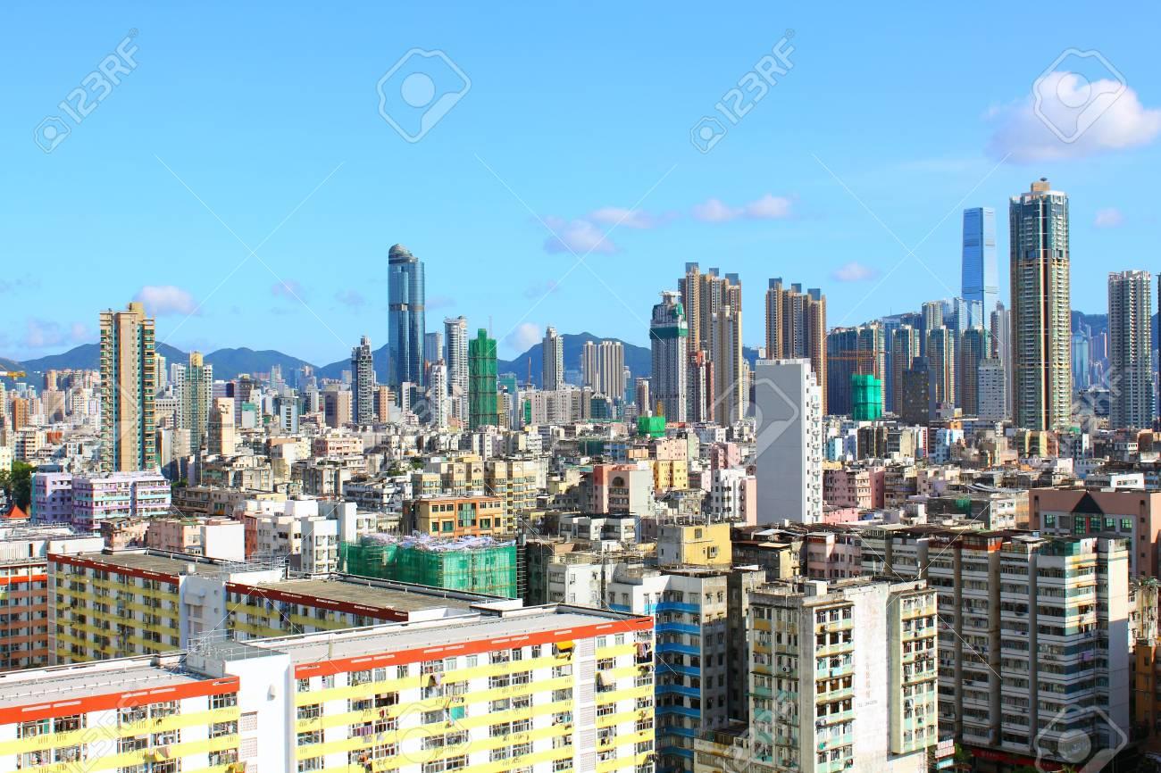 Hong Kong downtown at day time Stock Photo - 12716522