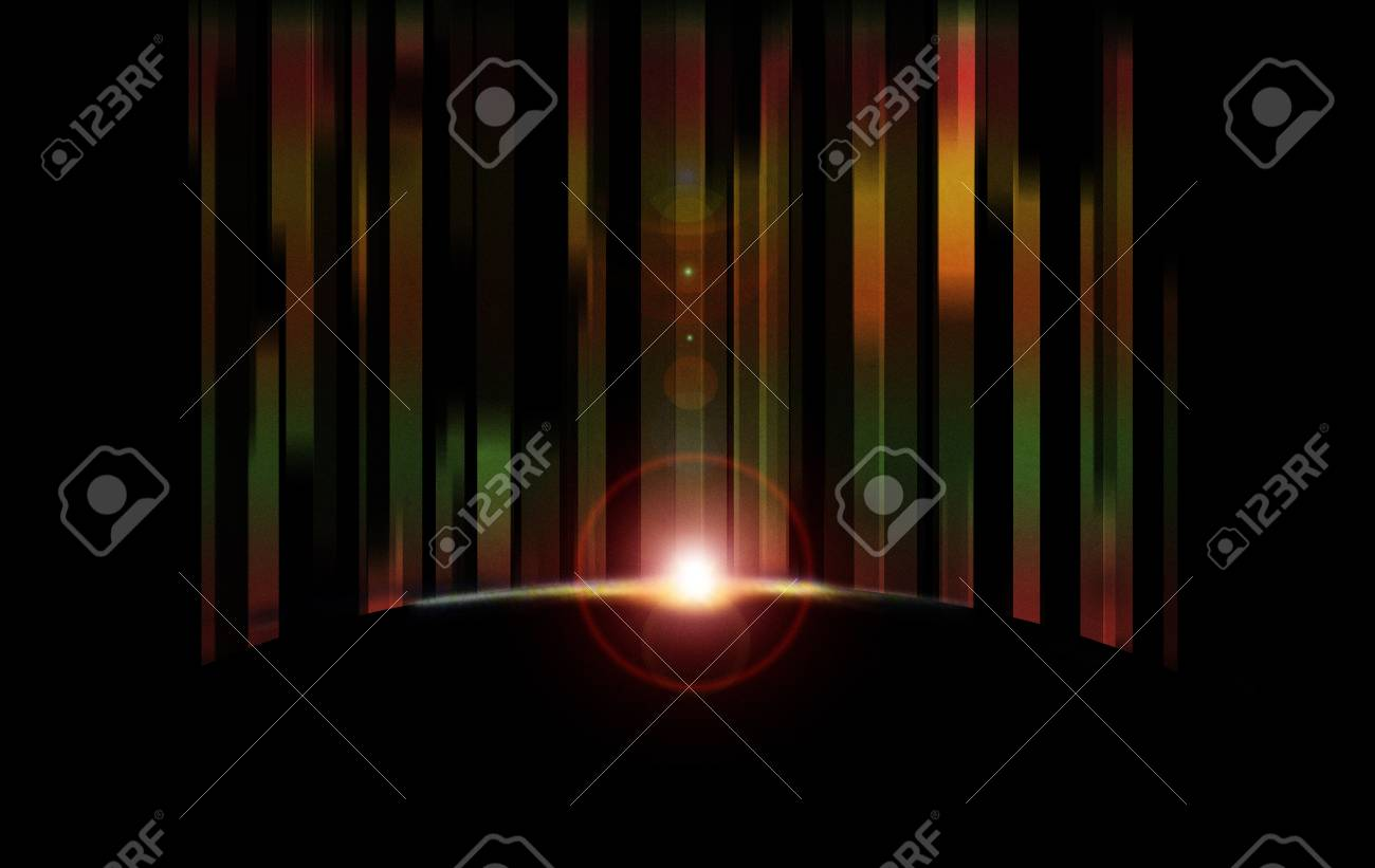 Eclipse background Stock Vector - 12902509