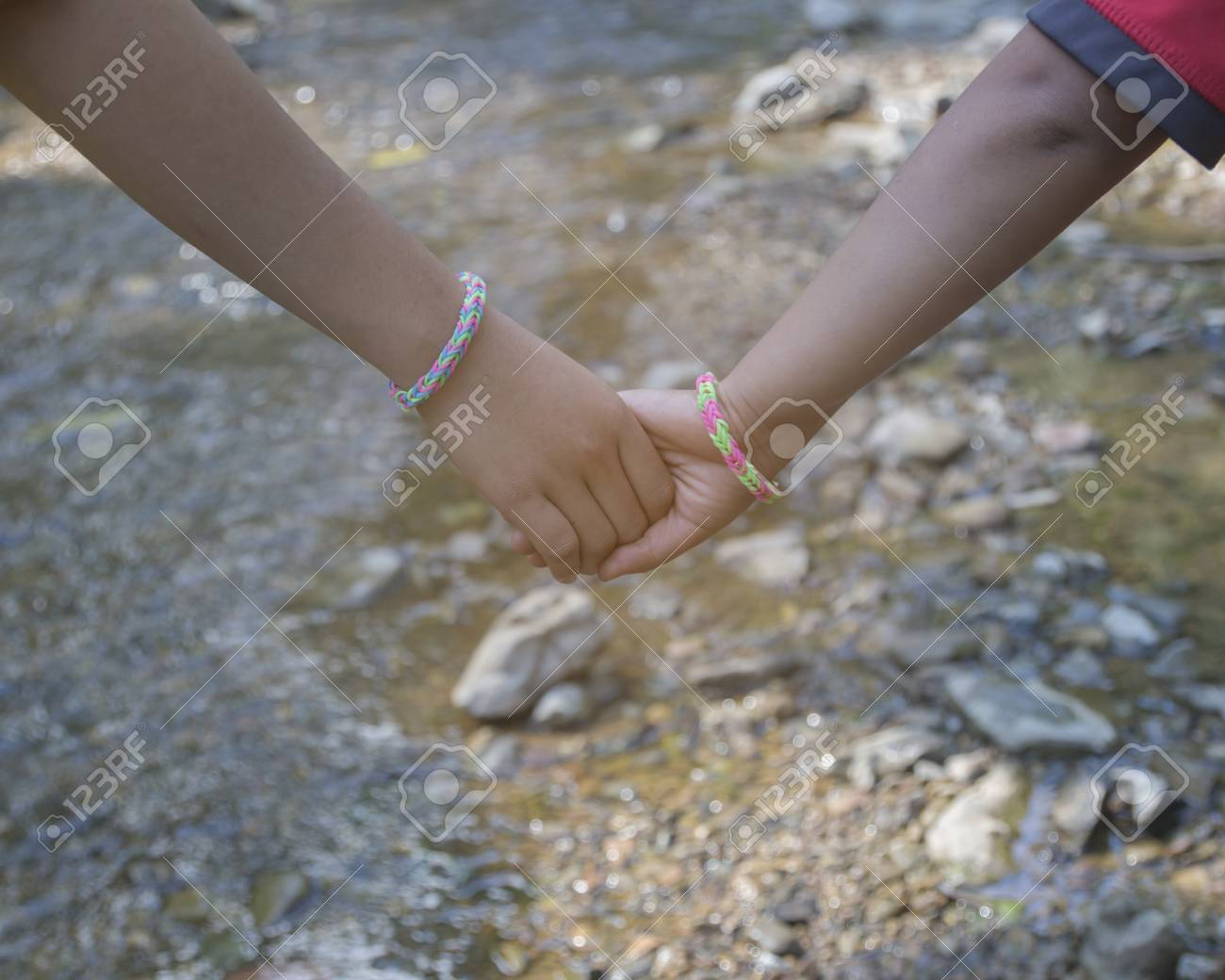 feeling lovely couple  Hands together