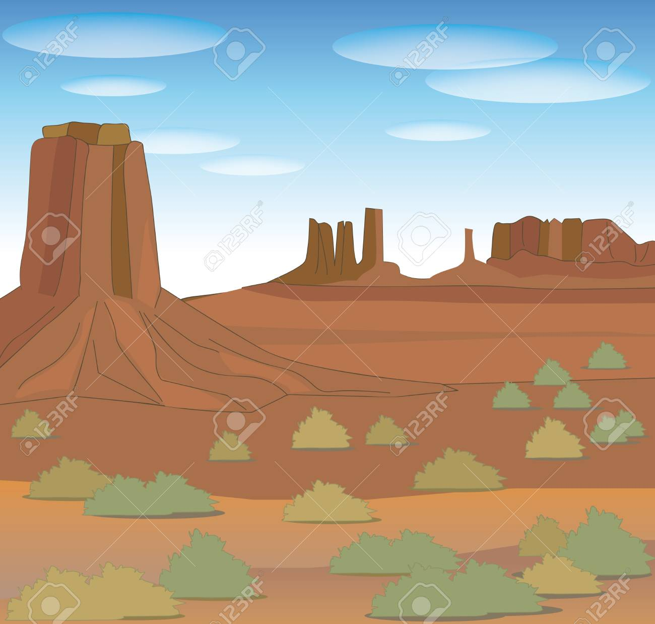 Monument valley-Nature image of North America - 115793967