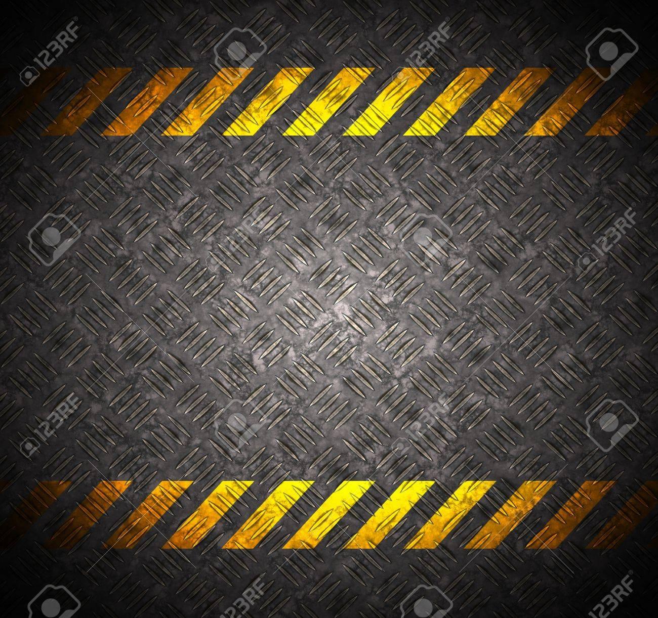 Caution Tape Metal