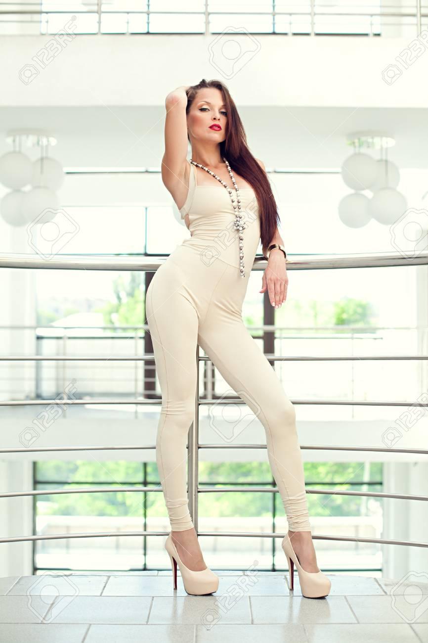 sexy women in tight dress