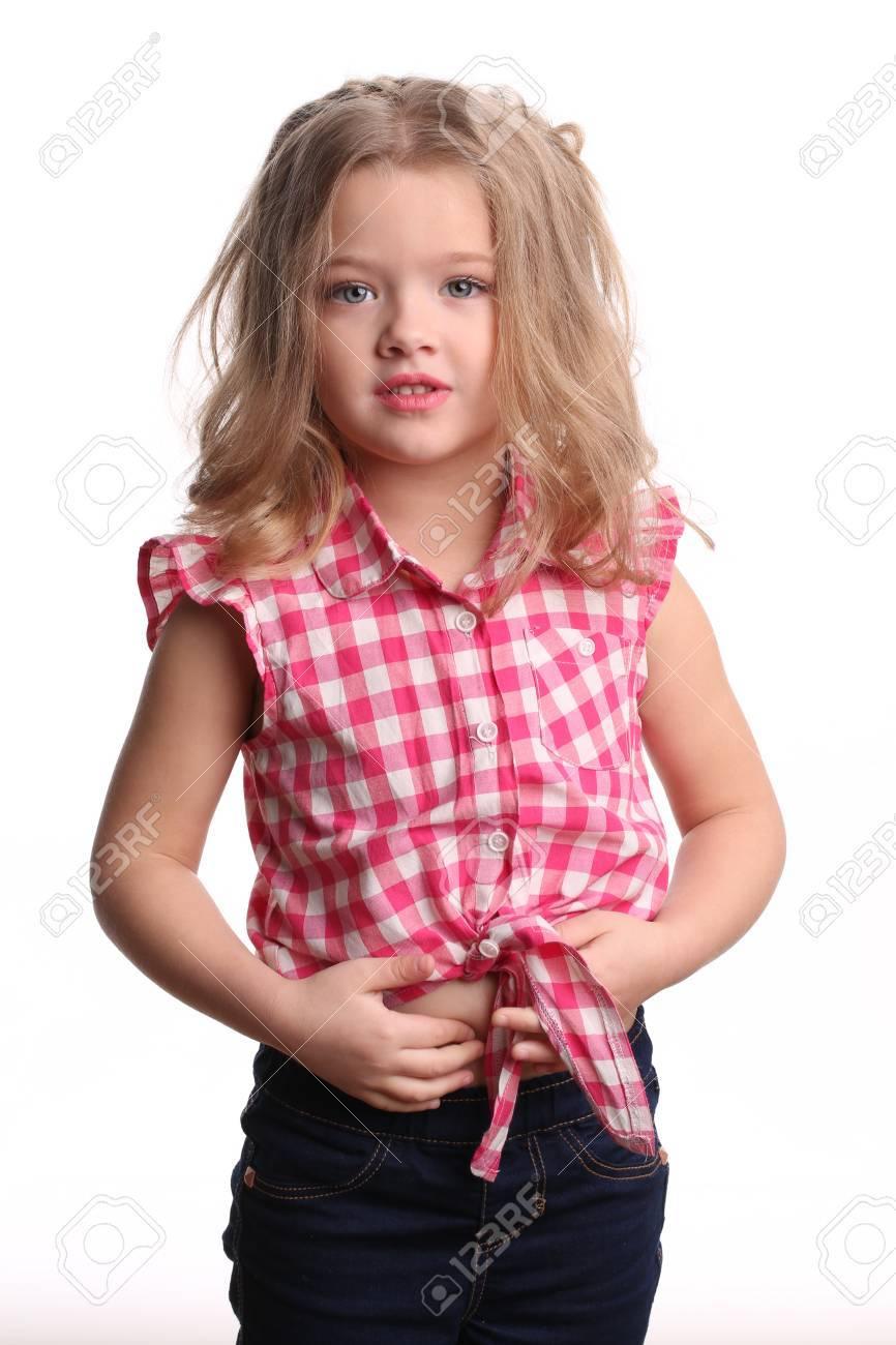 Pequeña Dama De Camisa Roja, Pequeño Fotógrafo, Infancia Feliz, Niña ...