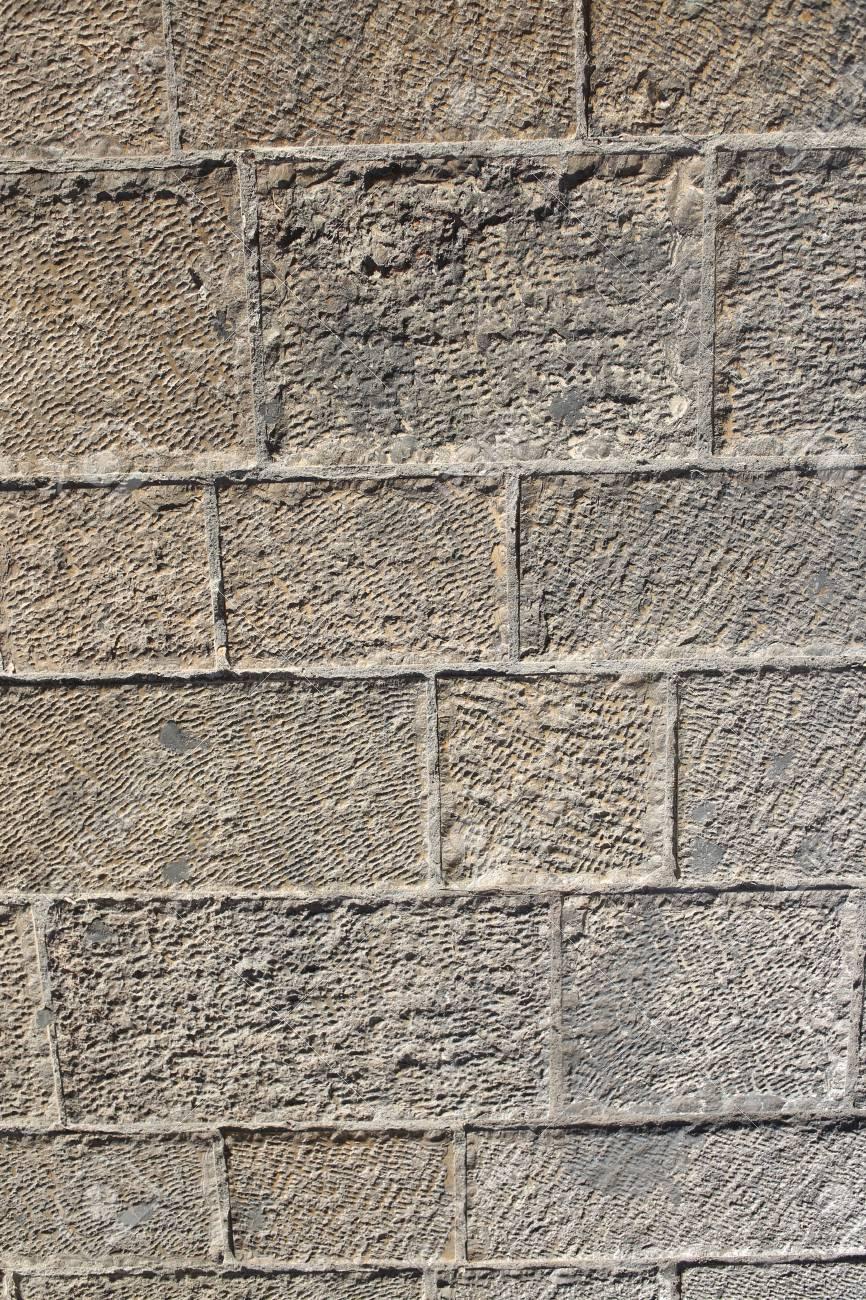 Mur En Pierres Concept Pour La Conception Et La Décoration Château