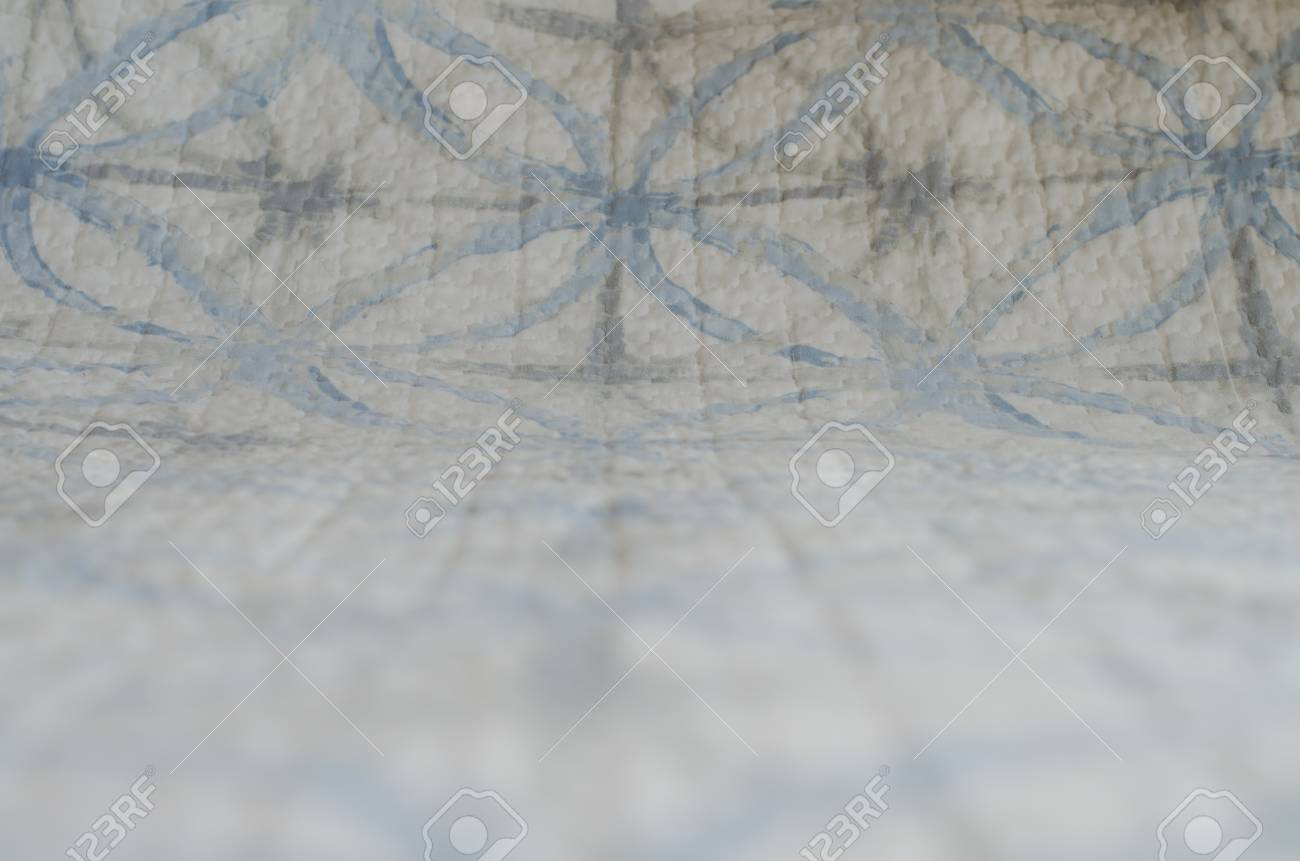 ... Banque dimages - Soft focus of white and blue blanket with geometric  pattern textile background innovative ... bbc0e4f96