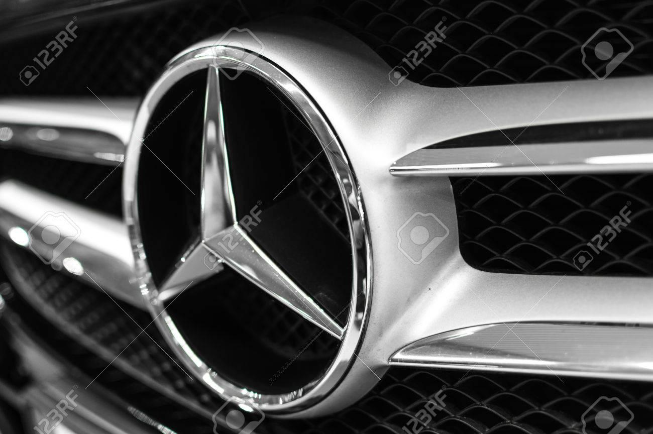 Mercedes Benz Logo Close Up Mercedes Benz Is A German Automobile