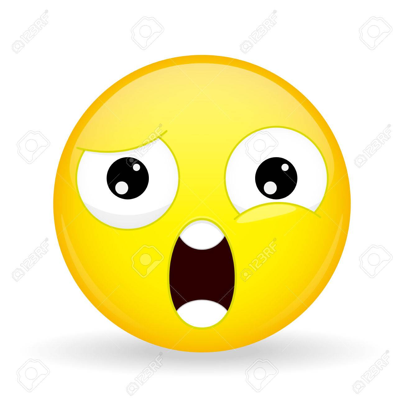 What emoji. Shock emotion. Wtf emoticon.