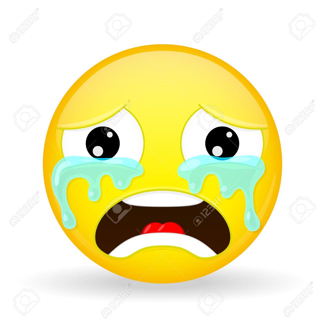 плачущий смайлик фото